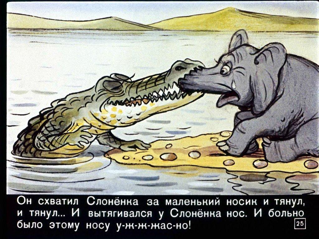 Мультик почему у слона длинный нос